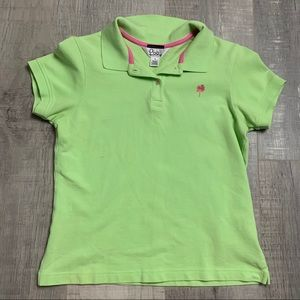 Lilly Pulitzer Lime Green Short Sleeve Top